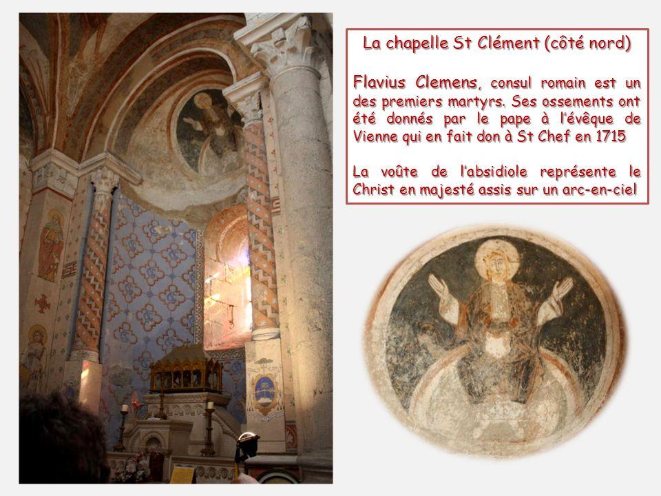 La chapelle St Clément (côté nord)