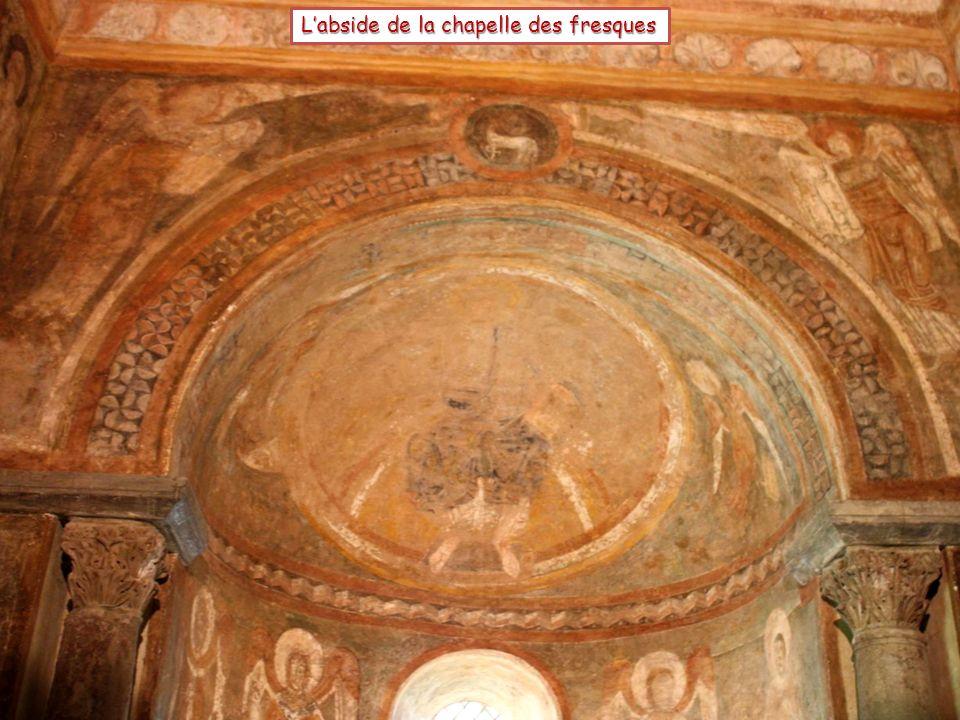 L'abside de la chapelle des fresques