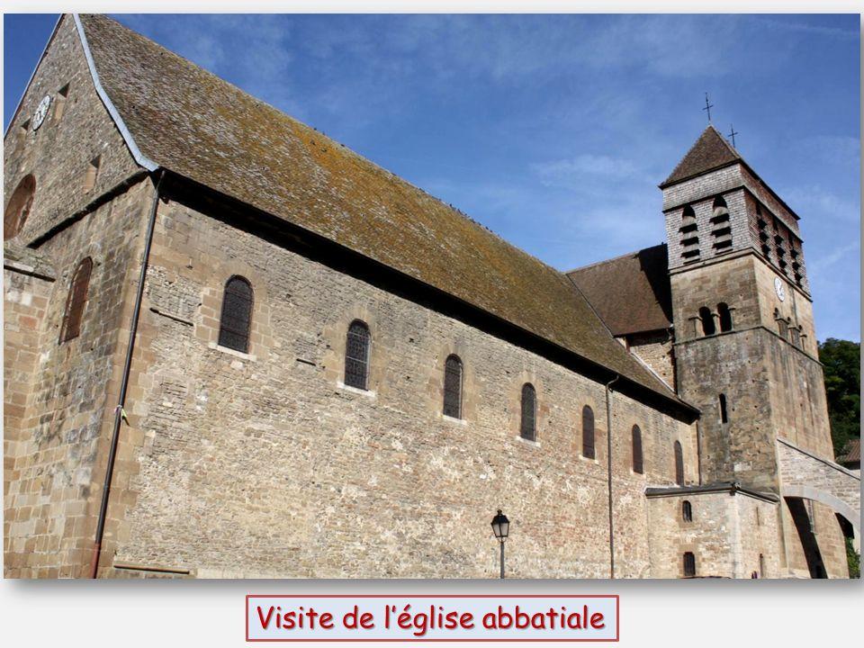 Visite de l'église abbatiale