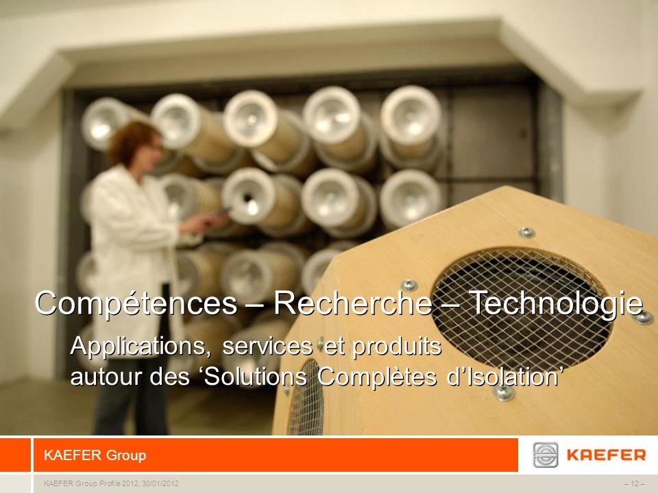 Compétences – Recherche – Technologie