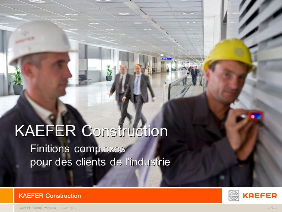 KAEFER Construction Finitions complexes