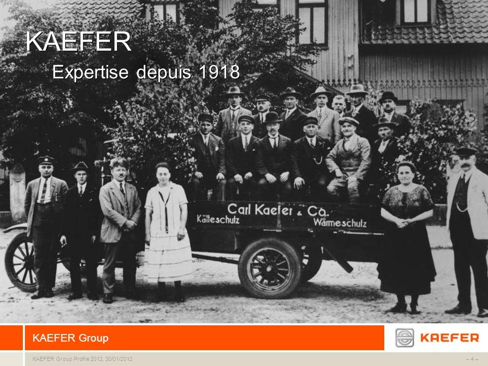 KAEFER Expertise depuis 1918