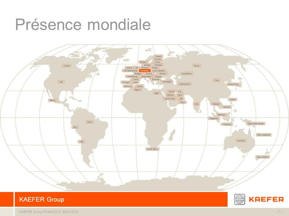 Présence mondiale 7