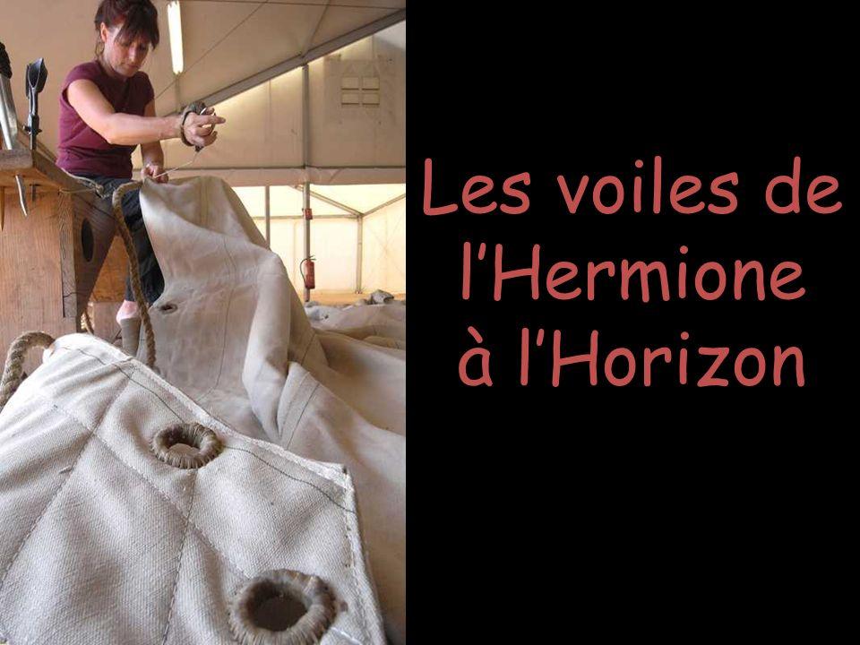 Les voiles de l'Hermione