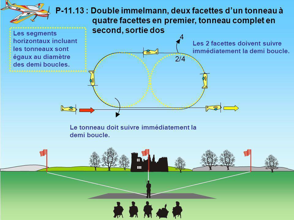 P-11. 13 : Double immelmann, deux facettes d'un tonneau à