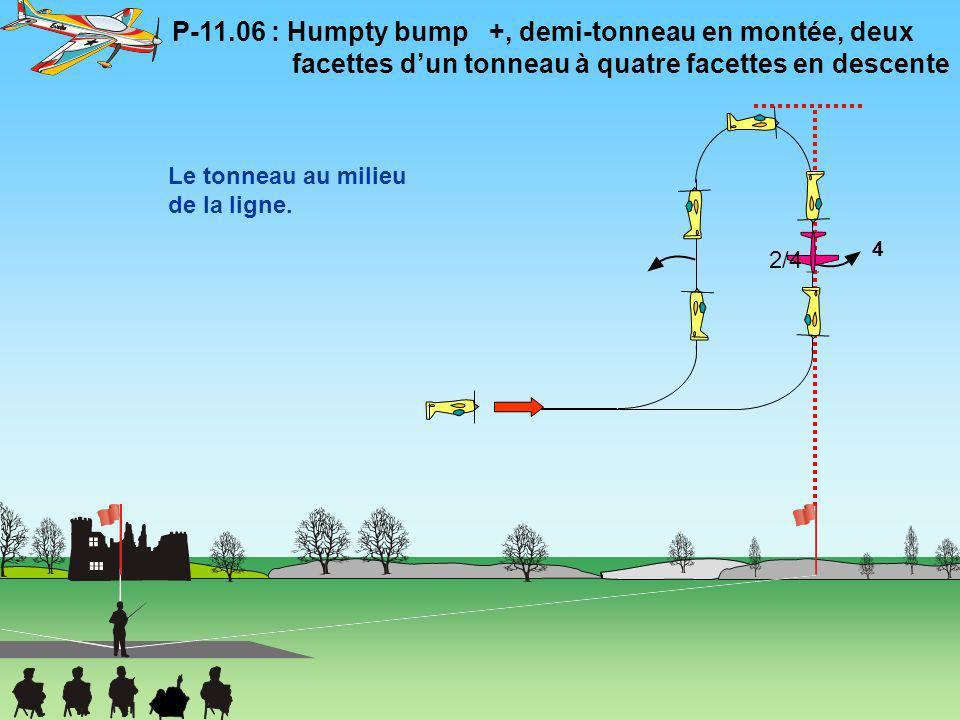 P-11. 06 : Humpty bump   +, demi-tonneau en montée, deux