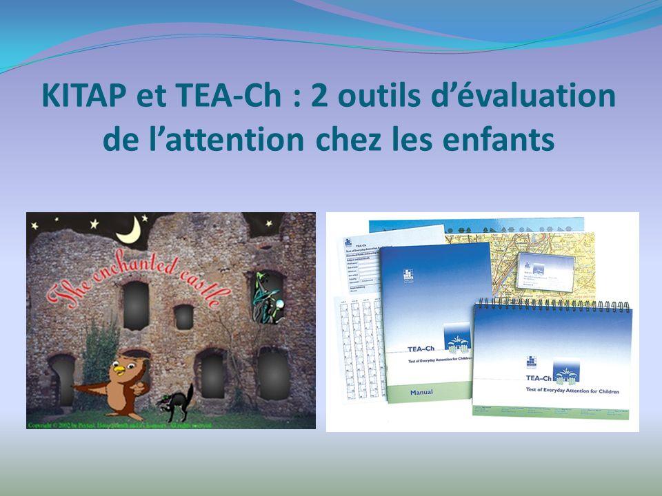 KITAP et TEA-Ch : 2 outils d'évaluation de l'attention chez les enfants
