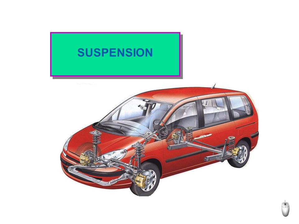 SUSPENSION
