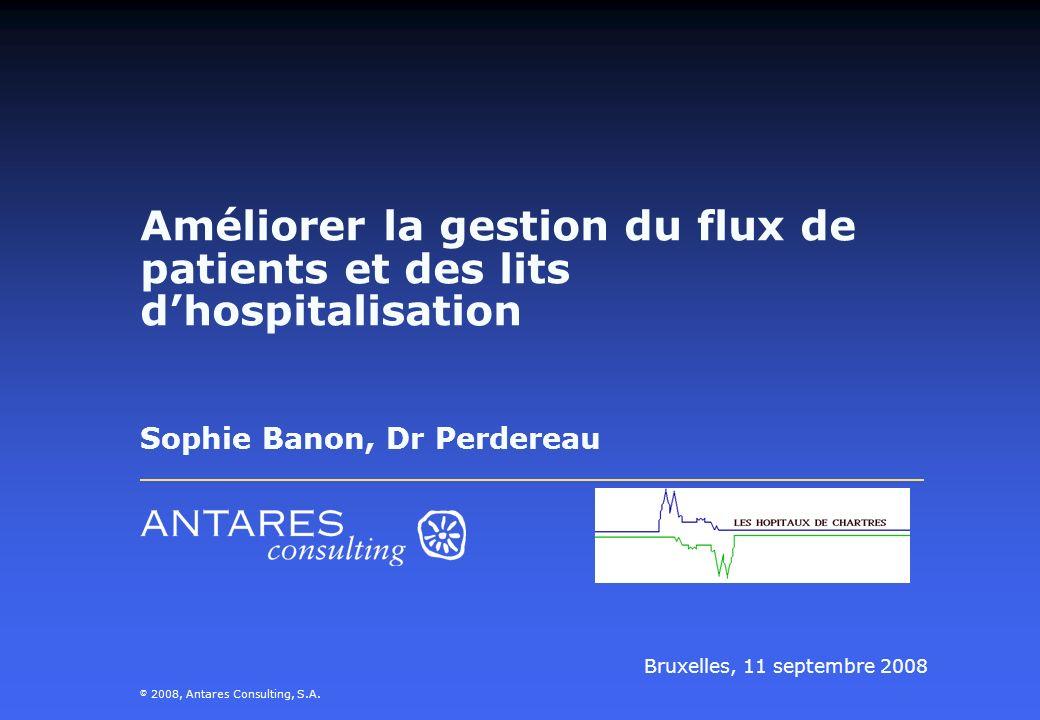 Améliorer la gestion du flux de patients et des lits d'hospitalisation