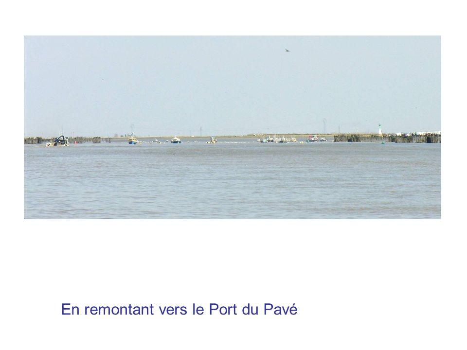En remontant vers le Port du Pavé
