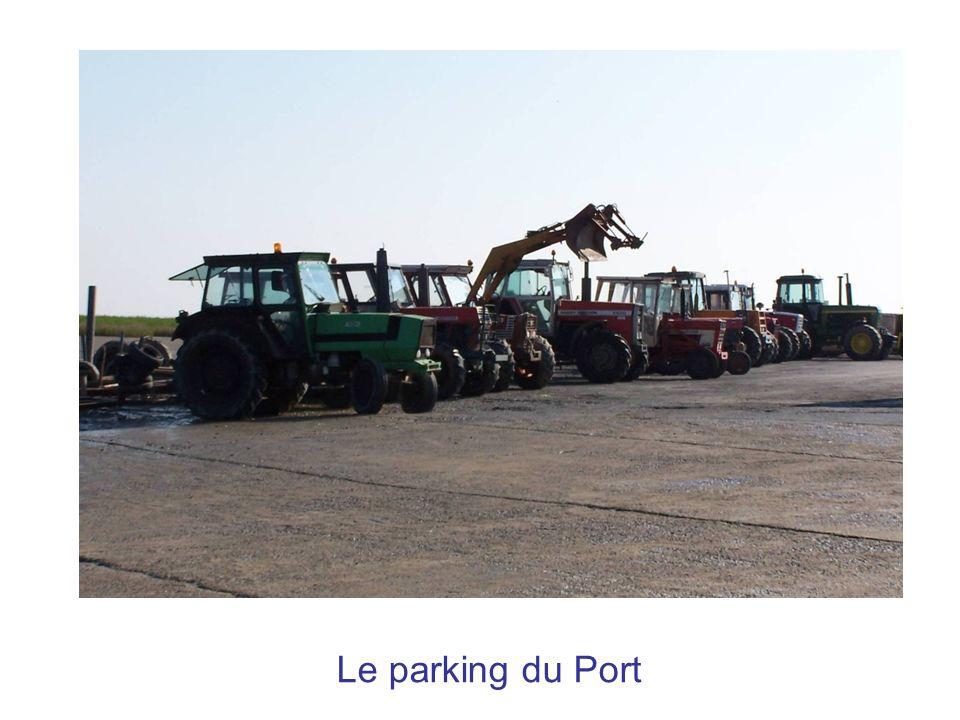 Le parking du Port