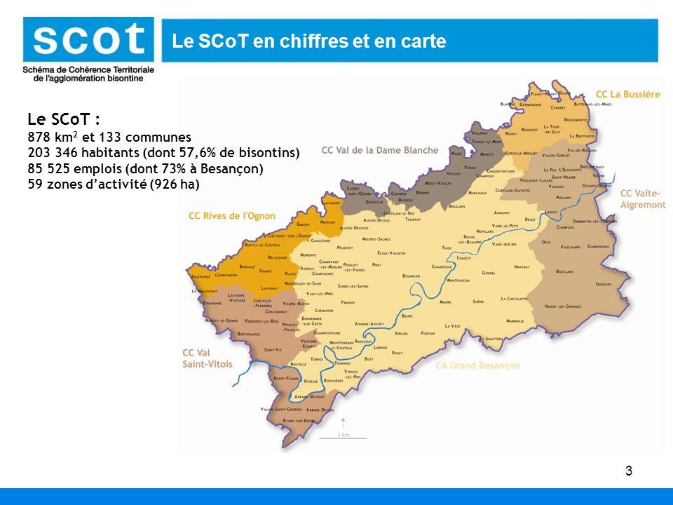 Le SCoT en chiffres et en carte