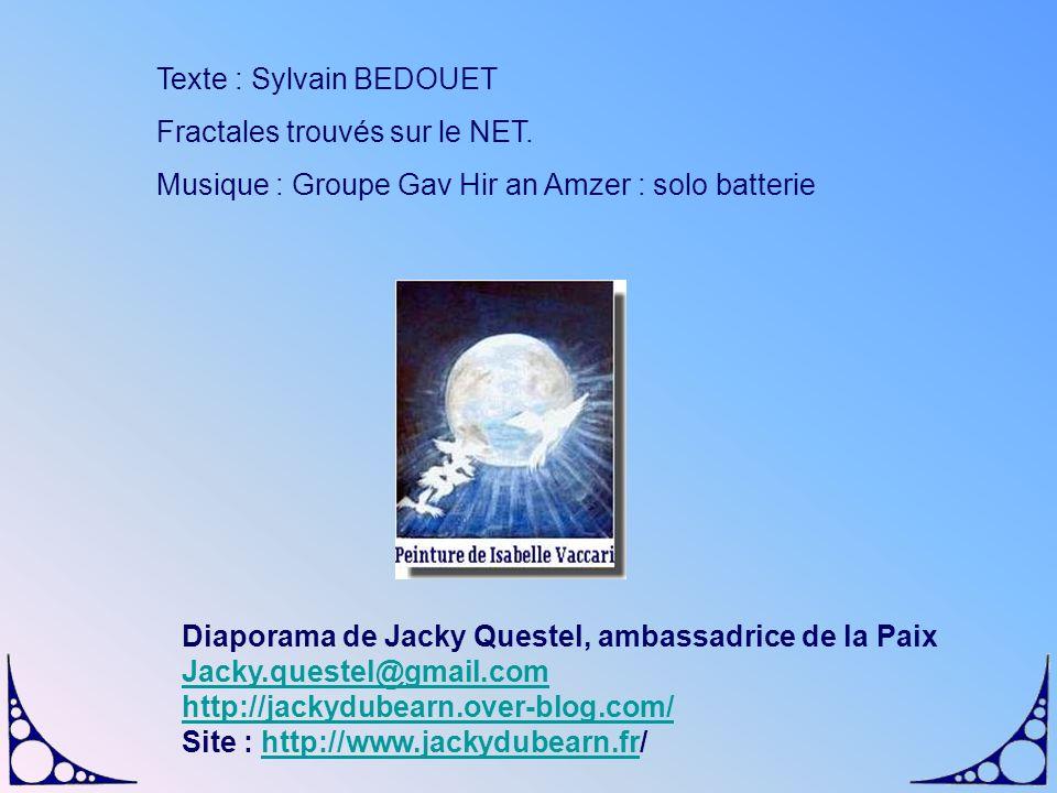 Texte : Sylvain BEDOUET