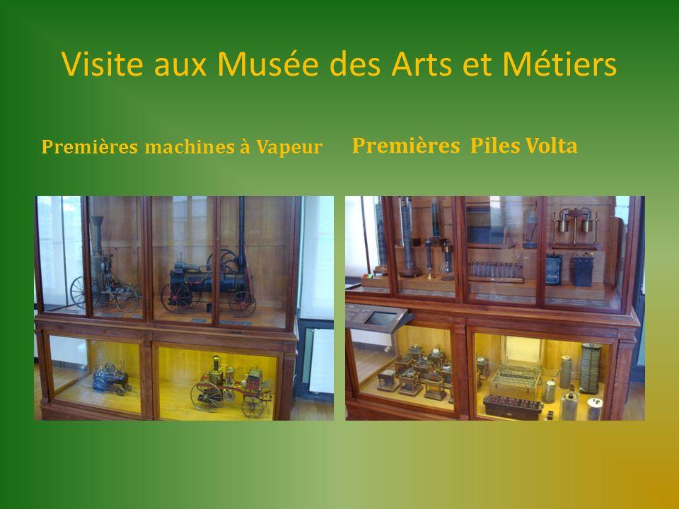 Visite aux Musée des Arts et Métiers