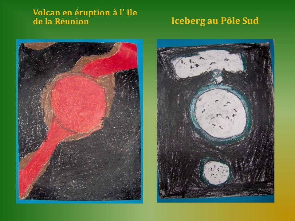 Volcan en éruption à l' Ile de la Réunion