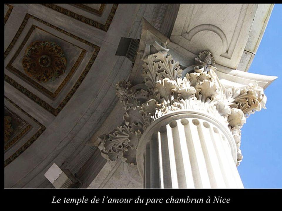 Le temple de l'amour du parc chambrun à Nice