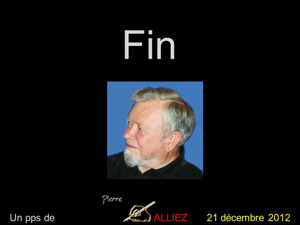 Un pps de ALLIEZ 21 décembre 2012