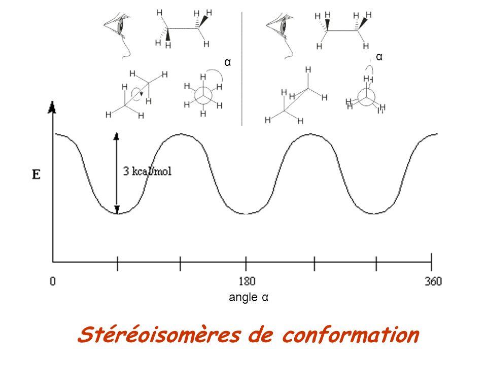 Stéréoisomères de conformation