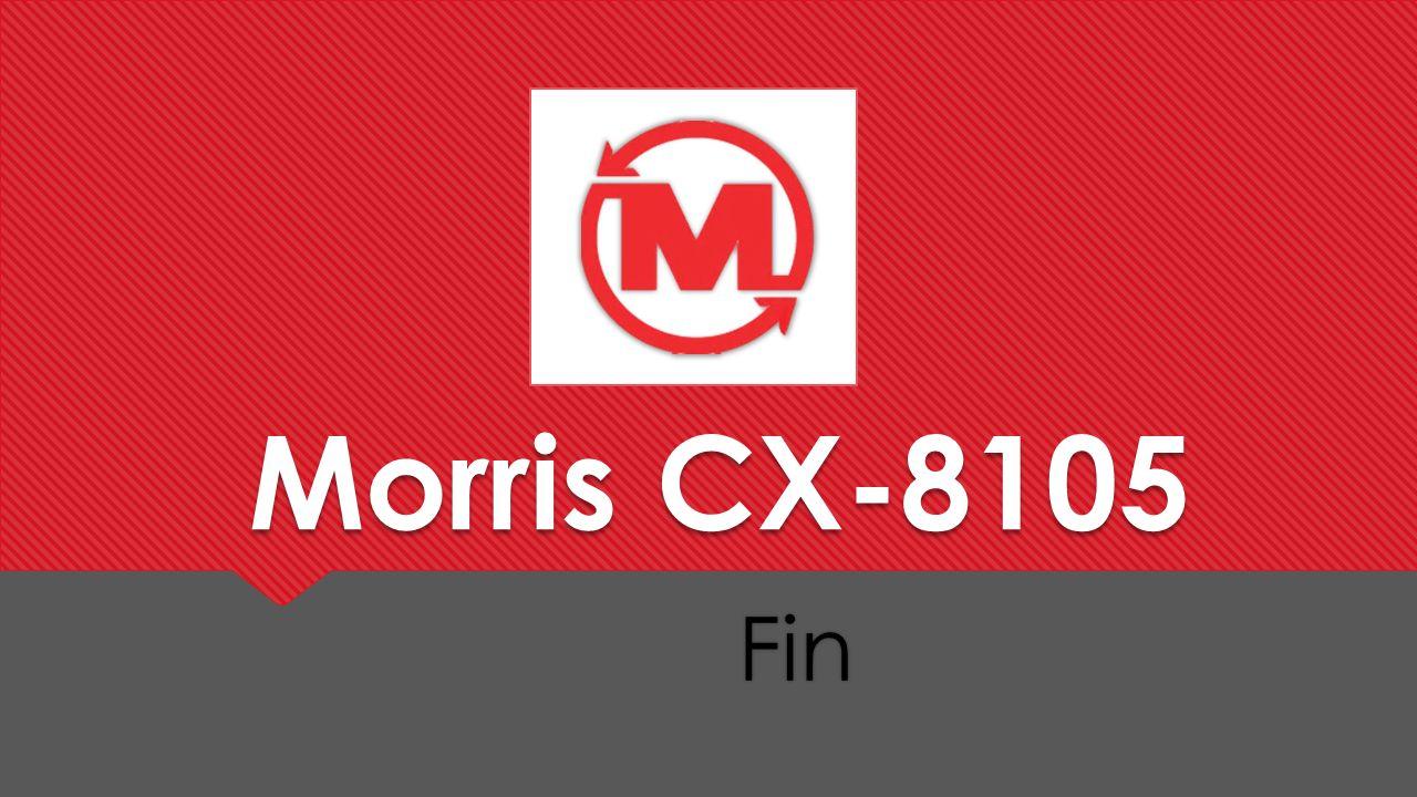 Morris CX-8105 Fin