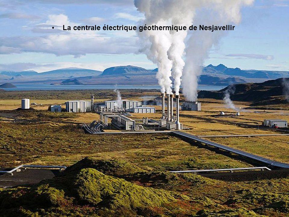 La centrale électrique géothermique de Nesjavellir