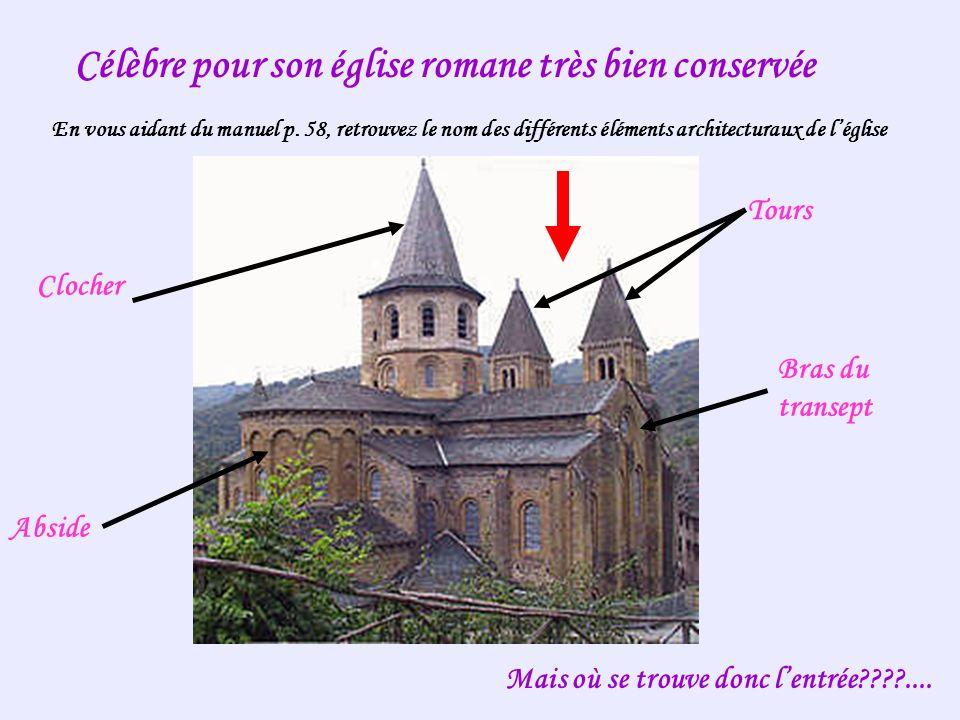Célèbre pour son église romane très bien conservée