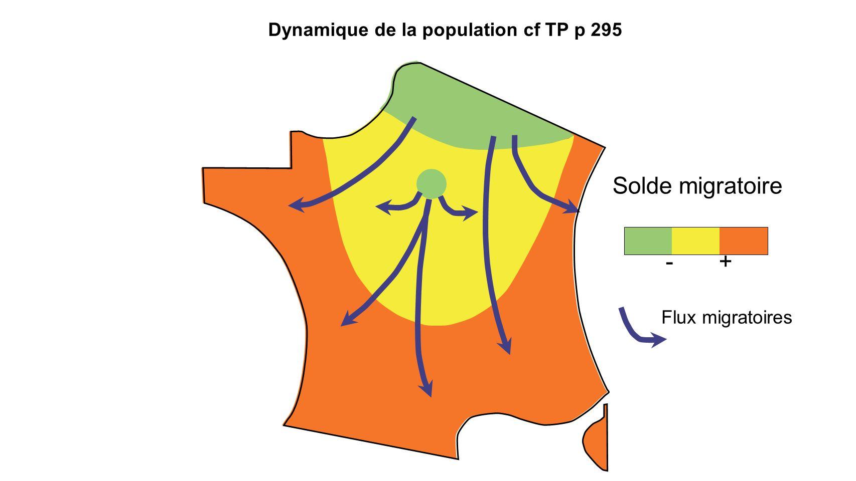 Dynamique de la population cf TP p 295