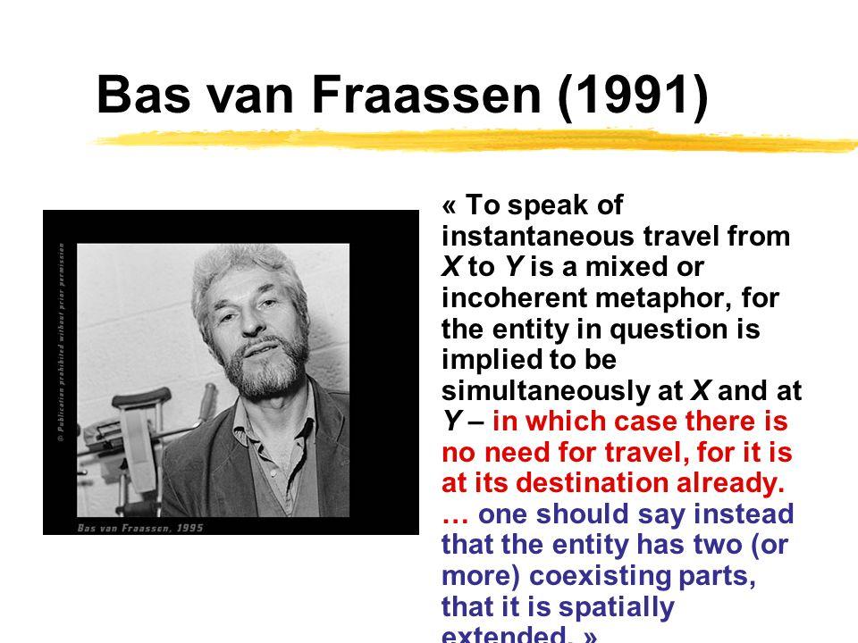 Bas van Fraassen (1991)