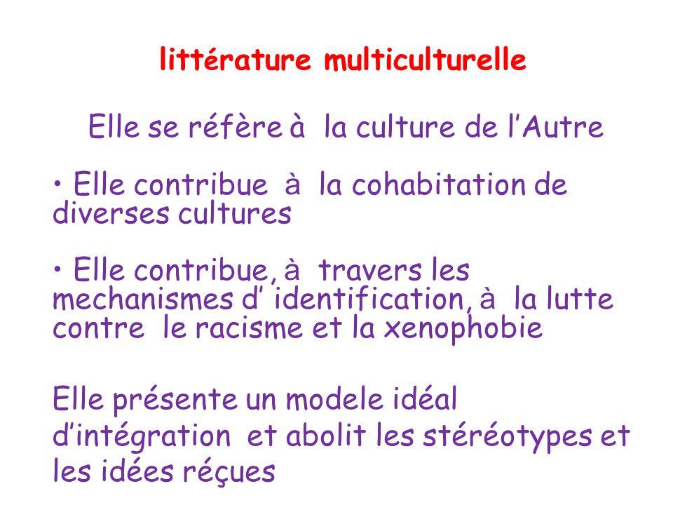 littérature multiculturelle