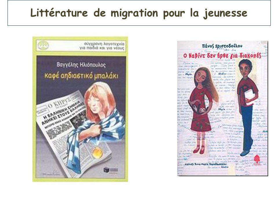 Littérature de migration pour la jeunesse