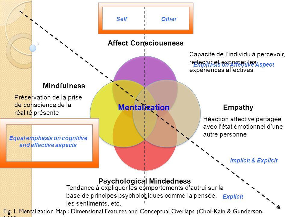Mentalization Affect Consciousness Mindfulness Empathy