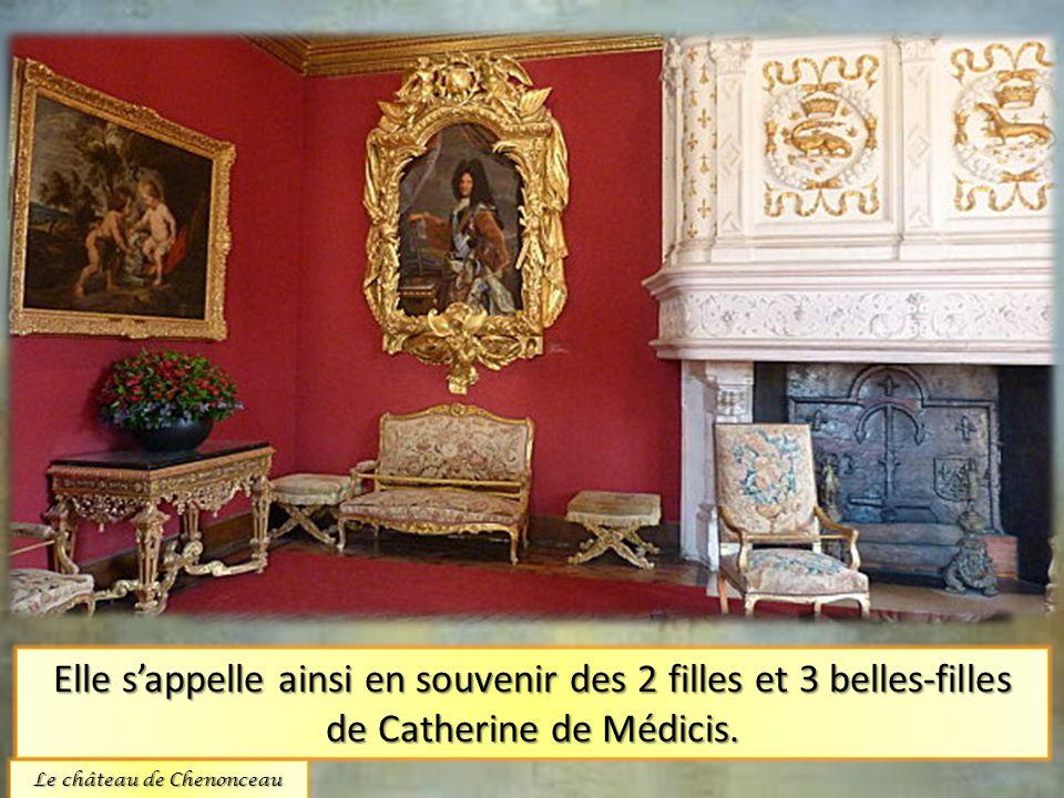La chambre des cinq reines.