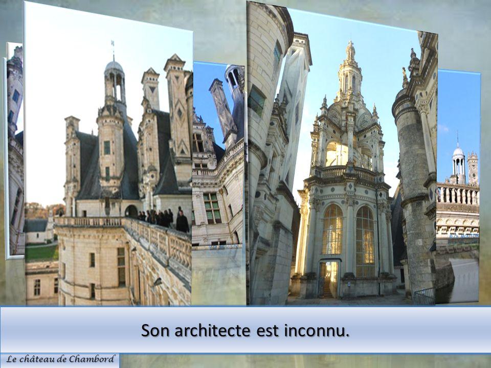 Son architecte est inconnu.
