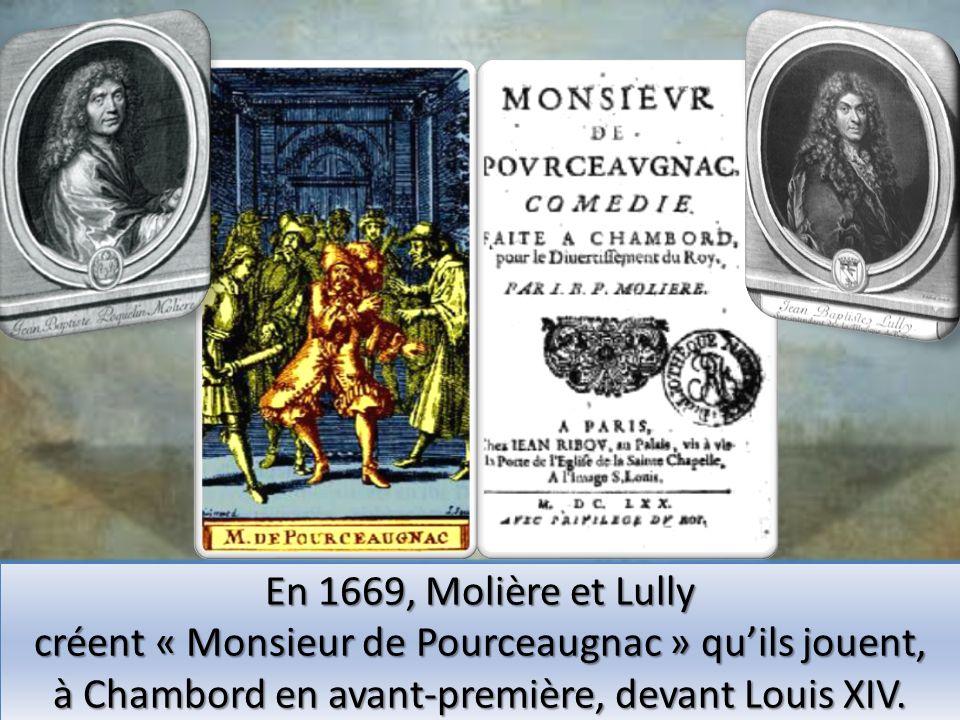 créent « Monsieur de Pourceaugnac » qu'ils jouent,