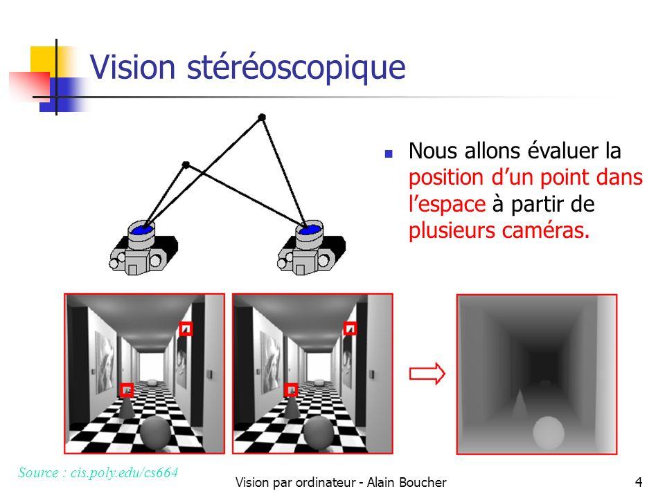 Vision stéréoscopique