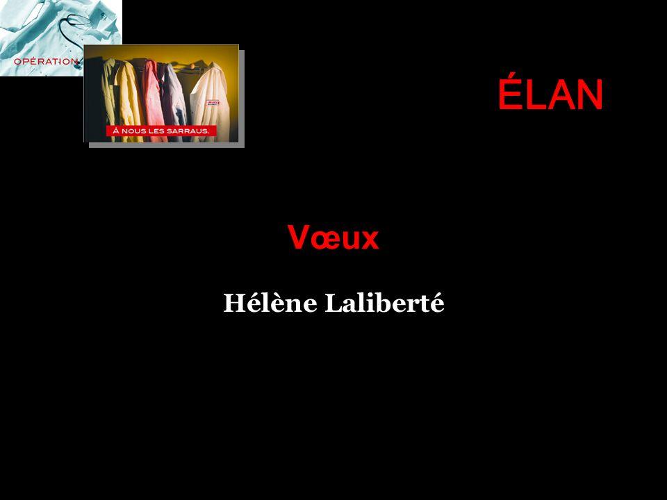 ÉLAN Vœux Hélène Laliberté