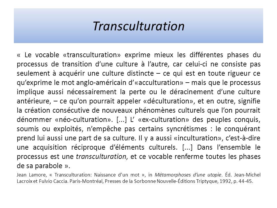 Transculturation