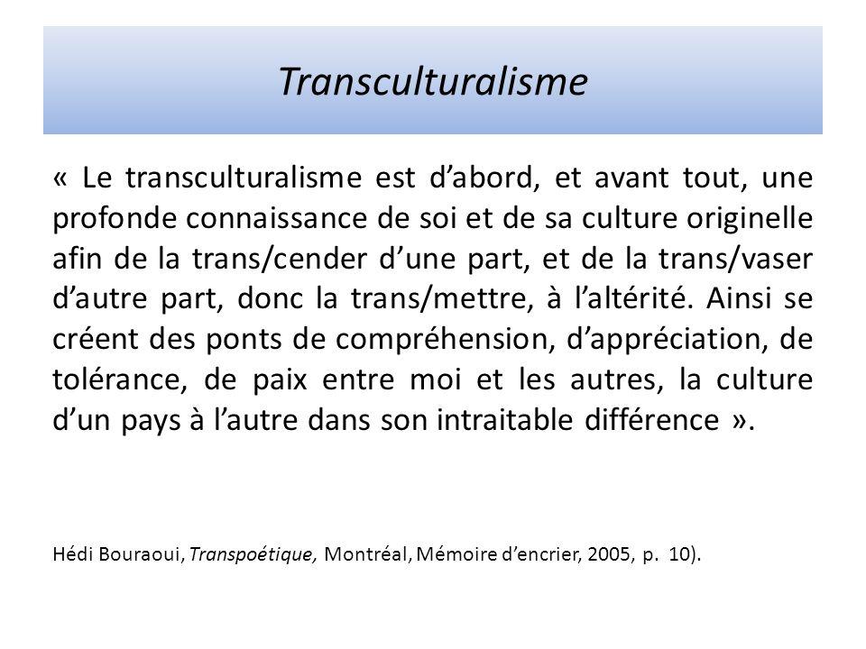 Transculturalisme