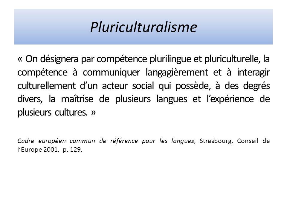 Pluriculturalisme