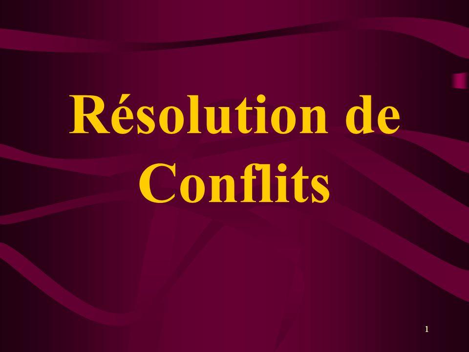 Résolution de Conflits