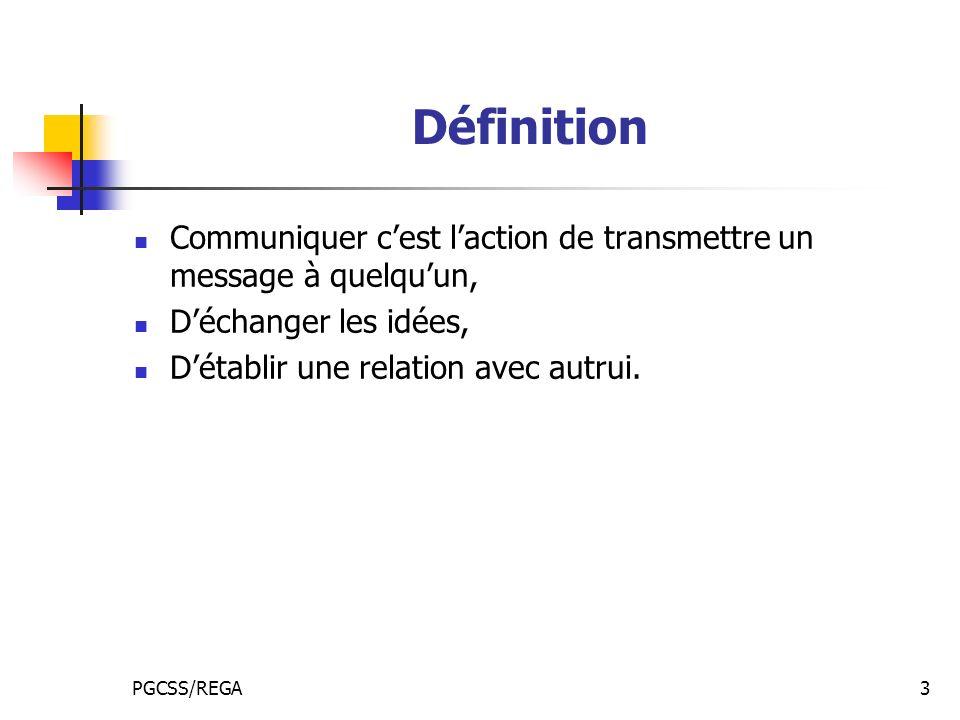 Définition Communiquer c'est l'action de transmettre un message à quelqu'un, D'échanger les idées,