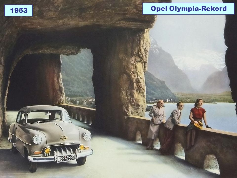 Opel Olympia-Rekord 1953