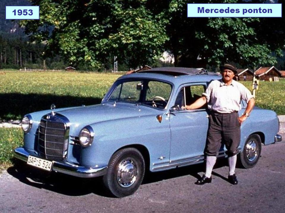 Mercedes ponton 1953