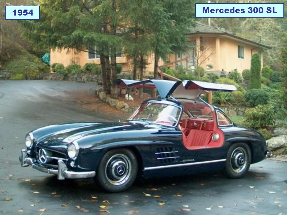 Mercedes 300 SL 1954