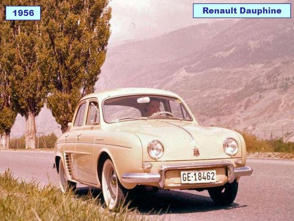 Renault Dauphine 1956