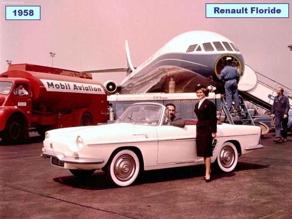 Renault Floride 1958