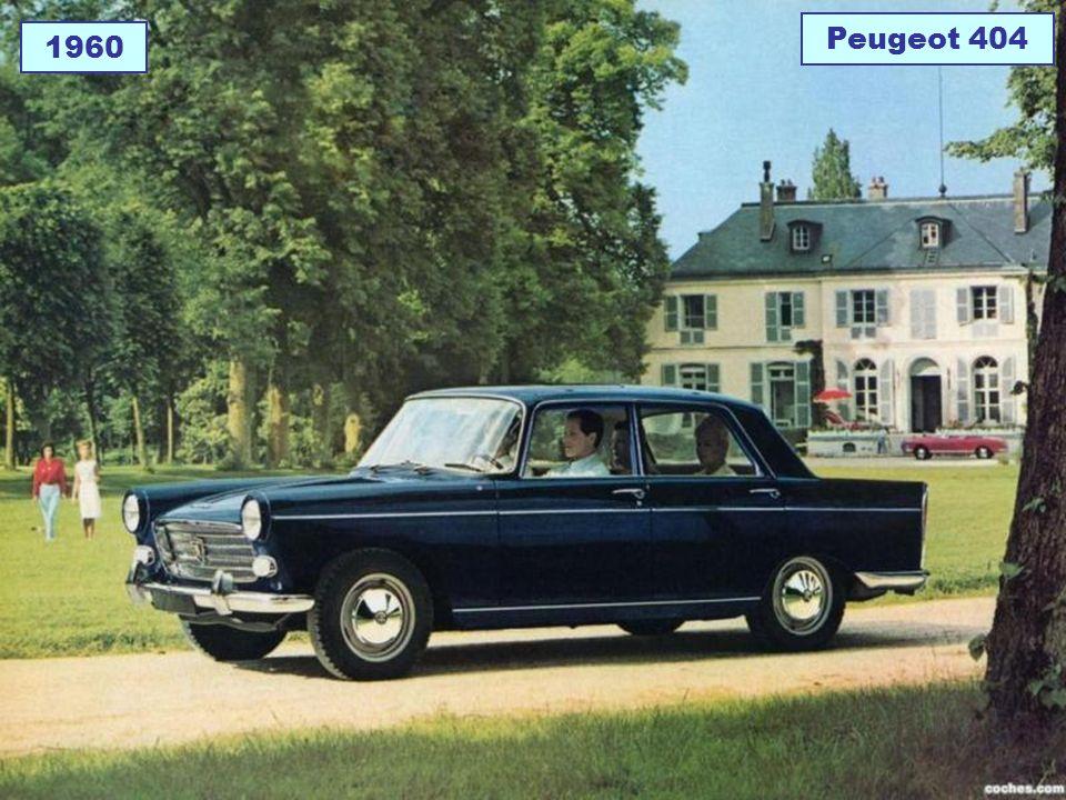 Peugeot 404 1960