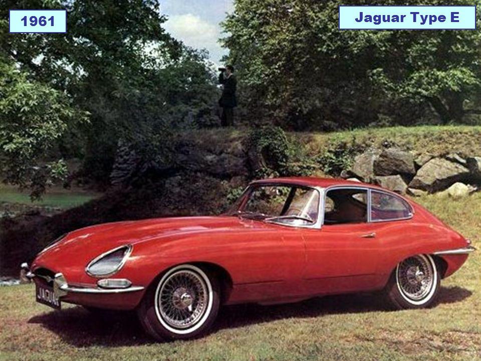 Jaguar Type E 1961