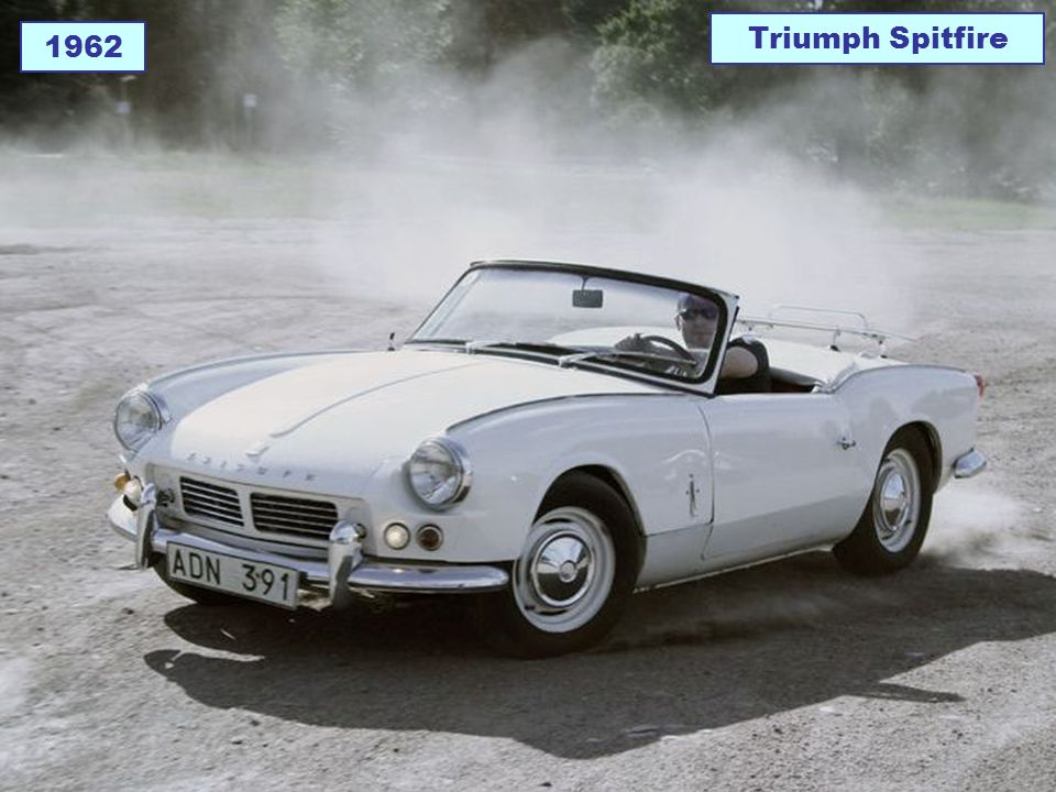 Triumph Spitfire 1962