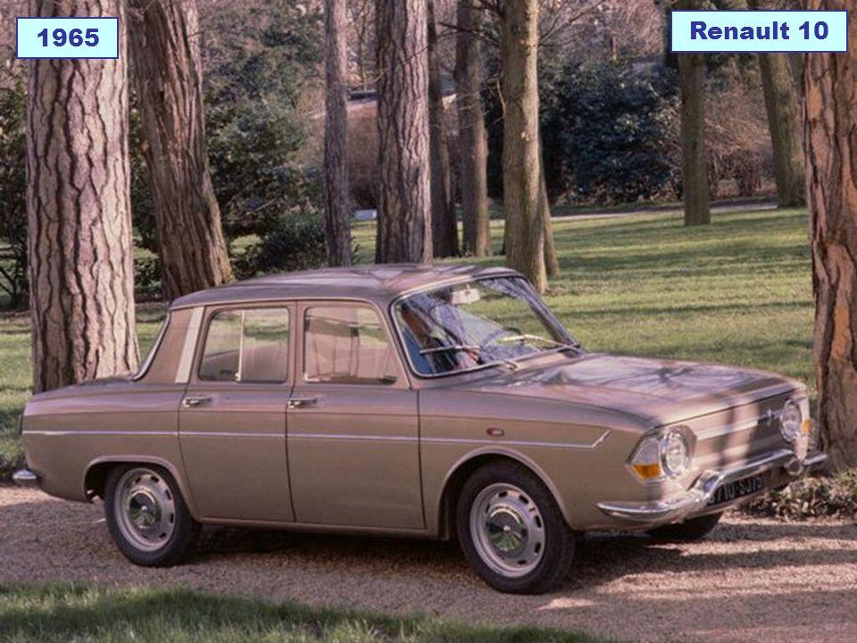 Renault 10 1965