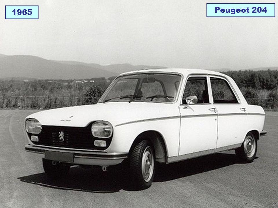 Peugeot 204 1965